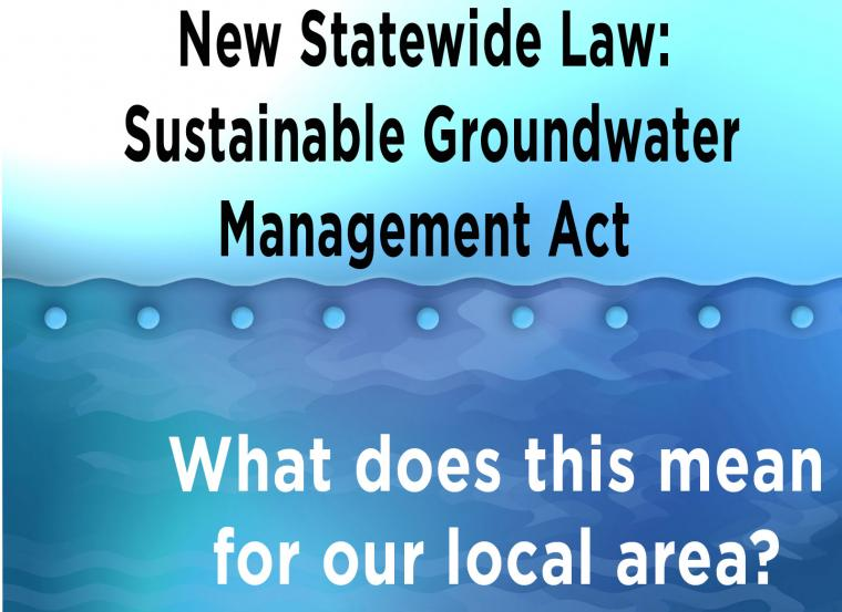 Sustainable Groundwater Management Act graphic