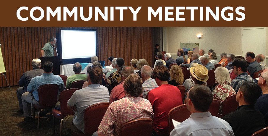photo of a community meeting